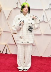 Billie Eilish wore Chanel at the 92nd Academy Awards in Los Angeles (photo by Amy Sussman)