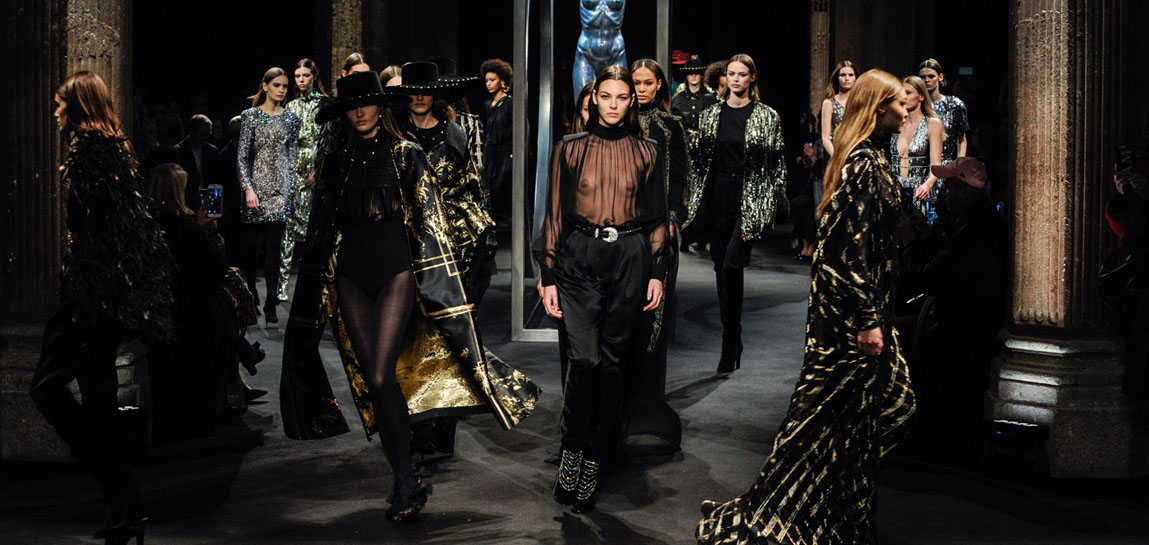 Alberta Ferretti Fall Winter 2018/19 women's collection