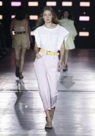 Gigi Hadid -  The Alberta Ferretti Spring Summer 2019 collection betweeen Riad and dunes