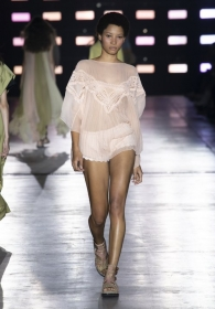 The Alberta Ferretti Spring Summer 2019 collection betweeen Riad and dunes