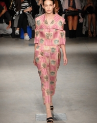 Alberto Zambelli Spring summer 2018 women\'s Collection (Photo by Giorgio Cavestro)