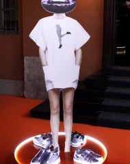 Alberto Guardiani Spring Summer 2018 women\'s Collection (Photo by Giuseppe Spena)
