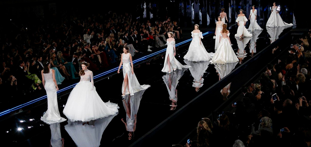 Brides by Alessandra Rinaudo for 2019 season: Nicole Spose and the capsule collection introduced in Rome