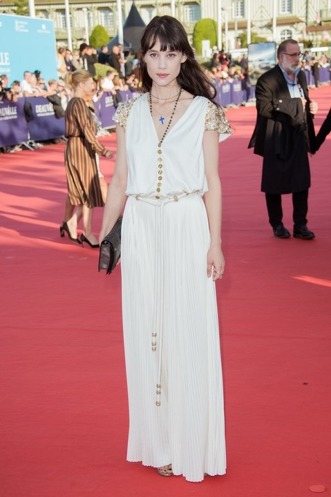 Astrid Bergès Frisbey in Chanel - Festival de Deauville 2017
