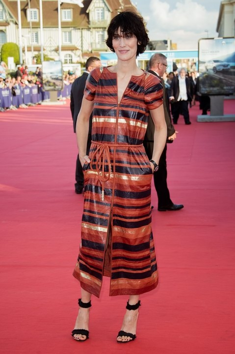 Clotilde Hesme in Chanel - Festival de Deauville 2017