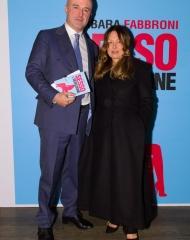 Barbara Fabbroni e Gianluigi Nuzzi
