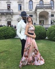 Jonathan Kashanian and Bianca Atzei