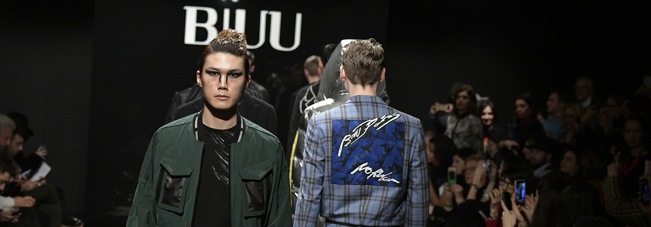 Biuu men's Fall Winter 2018/19 collection