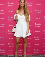 Emmacakecup attends Paris Hilton x Boohoo Party