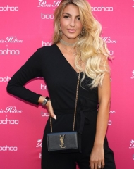 Victoria Dalloz attends Paris Hilton x Boohoo Party