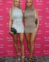 Ellie and Daisy O'Donnell attend Paris Hilton