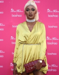 Eve Pamba attends Paris Hilton x Boohoo Party at Hotel Le Marois