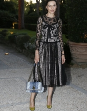 Anna Foglietta wearing Bottega Veneta (ph by Daniele Venturelli)