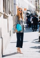 Pernille Teisbaek carrying the Drop_Paris Fashion Week, June 2019 -