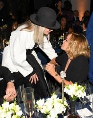 Diane Keaton, Jessica Lange, (wearing Bottega Veneta)
