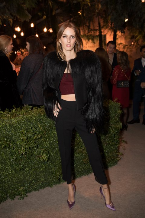 Alice Manners attends Bottega Veneta's 'The Hand of the Artisan Cocktail Dinner' at Chiswick House And Gardens on November 9, 2017 in London, England. (Photo by Shaun James Cox)