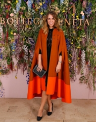 Amber Le Bon attends Bottega Veneta\'s \'The Hand of the Artisan Cocktail Dinner\' at Chiswick House And Gardens on November 9, 2017 in London, England. (Photo by David M. Benett/Dave Benett/Getty Images for Bottega Veneta)