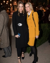 Bea Fresson and Alice Naylor Leyland attends Bottega Veneta\'s \'The Hand of the Artisan Cocktail Dinner\' at Chiswick House And Gardens on November 9, 2017 in London, England. (Photo by Shaun James Cox)