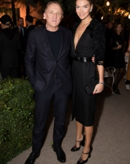François-Henri Pinault and Arizona Muse attends Bottega Veneta's 'The Hand of the Artisan Cocktail Dinner' at Chiswick House And Gardens on November 9, 2017 in London, England. (Photo by Shaun James Cox)