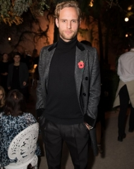 Jack Fox attends Bottega Veneta's 'The Hand of the Artisan Cocktail Dinner' at Chiswick House And Gardens on November 9, 2017 in London, England. (Photo by Shaun James Cox)