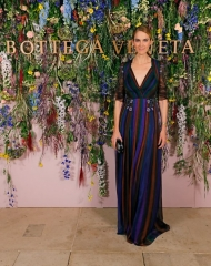 JJ Martin attends Bottega Veneta's 'The Hand of the Artisan Cocktail Dinner' at Chiswick House And Gardens on November 9, 2017 in London, England.