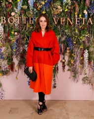 Lady Violet Manners attends Bottega Veneta's 'The Hand of the Artisan Cocktail Dinner' at Chiswick House And Gardens on November 9, 2017 in London, England. (Photo by David M. Benett/Dave Benett/Getty Images for Bottega Veneta)