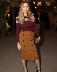 Pernille Teisbaek attends Bottega Veneta's 'The Hand of the Artisan Cocktail Dinner' at Chiswick House And Gardens on November 9, 2017 in London, England. (Photo by Shaun James Cox)