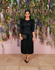 Zahra Lyla attends Bottega Veneta's 'The Hand of the Artisan Cocktail Dinner' at Chiswick House And Gardens on November 9, 2017 in London, England.