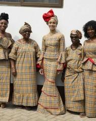 Kensemaa Aboah, Gladys Aboah, Adwoa Aboah, Mary Asare and Ernest