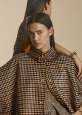 Irina Shayk, Burberry reveals Autumn_Winter 2020 Pre-Collection Campaign © Courtesy of Burberry / Danko Steiner
