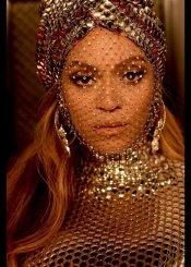 Beyoncé wearing Custom Burberry to the Grammy Awards 2021