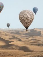 Burberry TB Summer Monogram Landscapes - Hot Air Balloons