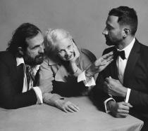 Portrait of Riccardo Tisci, Vivienne Westwood and Andreas Kronthaler  - ph Courtesy of Burberr  Brett Lloyd