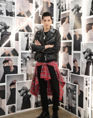 Kris Wu at an event to celebrate the launch of the Burberry x Kris Wu collectio
