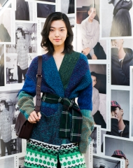 You Tianyi at an event to celebrate the launch of the Burberry x Kris Wu collection-2