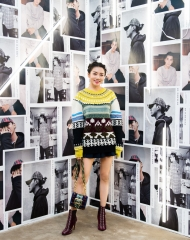 Yvonne Ching at an event to celebrate the launch of the Burberry x Kris Wu collection