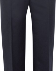 Burberry X Net-a-Porter. Navy High Waisted Trousers