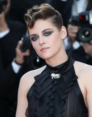 Kristen Stewart wore Chanel at the opening ceremony. Cannes Film Festival 2018 . ph by Mike Marsland