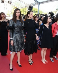 Anna Mouglalis and Anne Berest wore Chanel  at the by Eva Husson Premiere