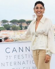 Golshifteh Farahani wore Chanel . Cannes Film Festival 2018 . ph by Dominique Charriau