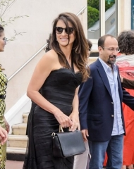 Penelope Cruz wore Chanel and Carpisa Bag .Cannes Film Festival 2018 . ph by SGP