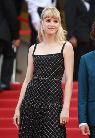 Angele wore Chanel  at 74° Cannes International Film festival - photo by Kate Green
