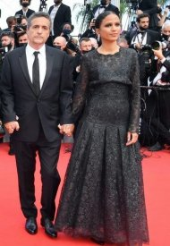 Mati Diop wore Chanel  at 74° Cannes International Film festival - photo by D.Charriau