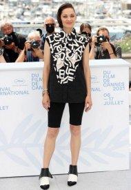 Chanel Ambassador  Marion Cotillard wore Chanel  at 74° Cannes International Film festival - photo by Mike Marsland