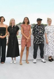 Mati Diop wore Chanel  at 74° Cannes International Film festival - photo by Dominique Charriau
