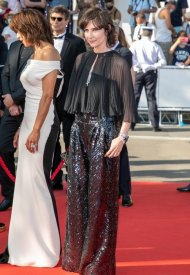 Géraldine Pailhas  wore Chanel  at 74° Cannes International Film festival - photo by Marc Piasecki