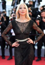 Soo Joo Park wore Chanel  at 74° Cannes International Film festival - photo by Stephane Cardinale - Corbis