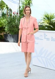 Naama Preis wore Chanel  at 74° Cannes International Film festival - photo by Pascal LeSegretain