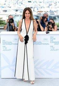 Elsa Zylberstein wore Chanel  at 74° Cannes International Film festival - photo by Daniele Venturelli