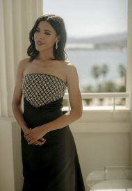 Zita Hanrot wore Chanel  at 74° Cannes International Film festival - photo by Virgile Guinard
